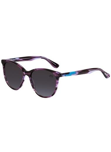 Slazenger Kadın  Güneş Gözlüğü Slazenger-6698-C4 Mor